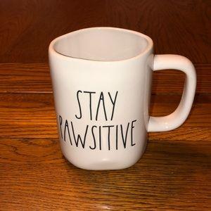 NEW Rae Dunn Stay Pawsitive Mug